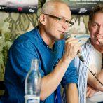 Fero Lipták, scénograf Tlačová konferencia k filmu Všetko čo mám rád