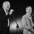prezident festivalu Milan Lasica a moderátor Jan Kraus