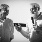 Martin Šulík a Juraj Nvota_uvedenie filmu Všetko čo mám rád