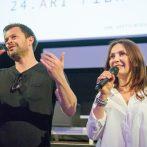 Alexander Bárta a Henrieta Mickovičová_uvedenie filmu_Dobrá manželka