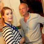 Katarína Šafaříková a Attila Mokos Variety párty v Tabačke