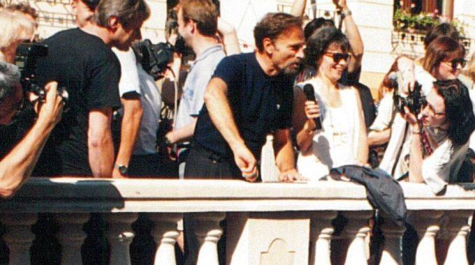 Franco Nero laureát ocenania Hercova misia 1995 (1.1)