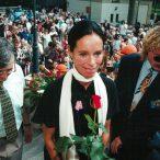 Geraldine Chaplin laureátka ocenenia Hercova misia 1997