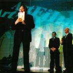 Juraj Jakubisko  laureát ocenia Zlatá kamera 2002