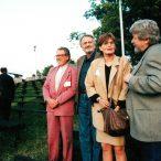 Miroslav Ondříček, Ľuba Velecká, Milan Lasica, Bengt Forslund členovia poroty 1998