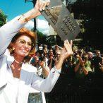 Sophia Loren  laureátka ocenenia Hercova misia 1999